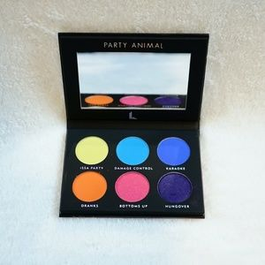 Laura Lee Neon Bold Eyeshadow Palette Party Animal